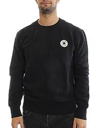 Converse Homme Core Logo Sweatshirt, Noir