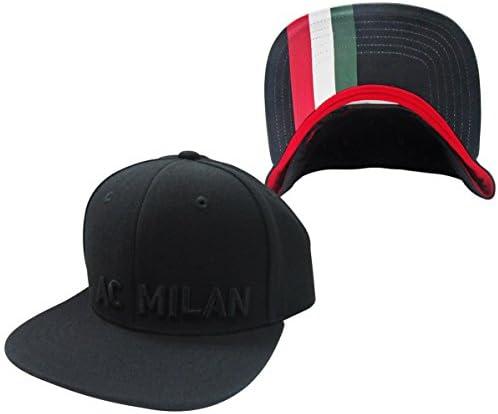 AC Milan Soccer Futbol Futbol Futbol Adidas Flat Brim Adjustable Snap Back Hat Cappello B00LVC6CY4 Parent | Vendite Online  | Vendita  | Offerta Speciale  69a530