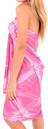 Bademode Verpackung Pareo Badeanzug Rock Badebekleidung Frauen Sarong Pool tragen Badeanzug Zeitkleidung verschleiern Mode Fuchsia