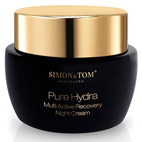 Simon & Tom Pure Hydra Aktivierende Anti-Aging Nachtcreme - NEUES DESIGN - Intensive...