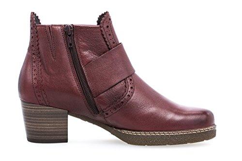 Comfort 617 75 rot femme bottes bottines Gabor stand 8Uqcw4z4W