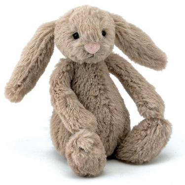 Image of Jellycat Bashful Bunny Beige Tiny Baby 13Cm Soft Toy