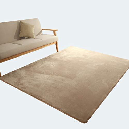 SESO UK-CAR Moderner japanischer Hof Designer Haushalt Teppich Villa Wohnzimmer Schlafzimmer Große weiche Teppiche (Farbe : Beige, größe : 160×230cm)