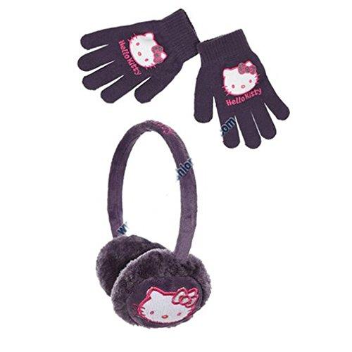 Hello kitty Mädchen Ohrenschützer violett violett ()