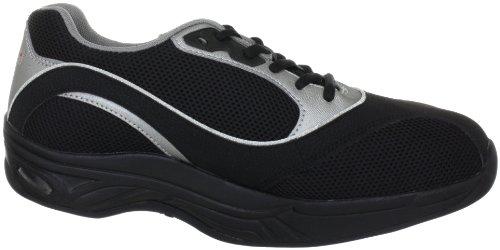 Chung Shi AuBioRiG Comfort Step Max 9102265 Herren Sportschuhe Schwarz/Schwarz
