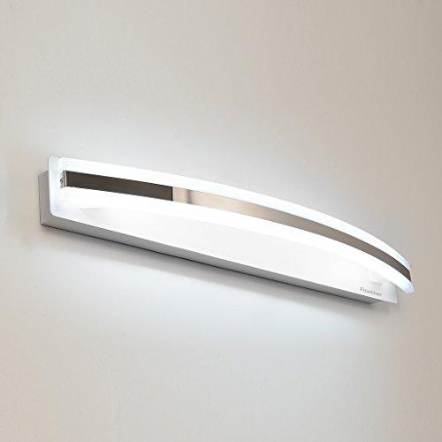 Finether-lámpara para Espejo de Baño(12W, Luz Blanco,Brillante y Cómoda)