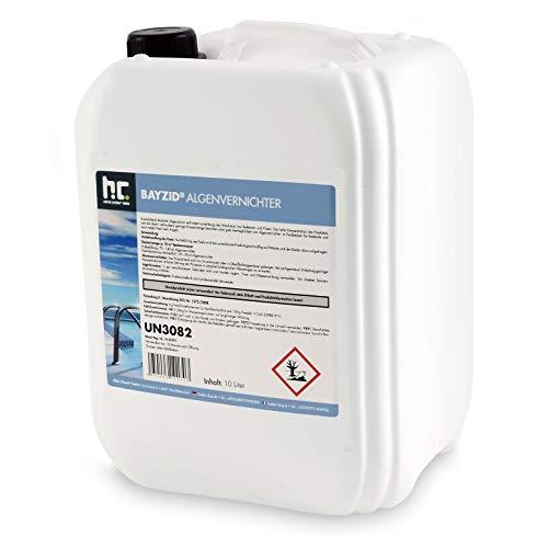 Höfer Chemie 10 L Pool Algenvernichter - Anti Algenmittel für...