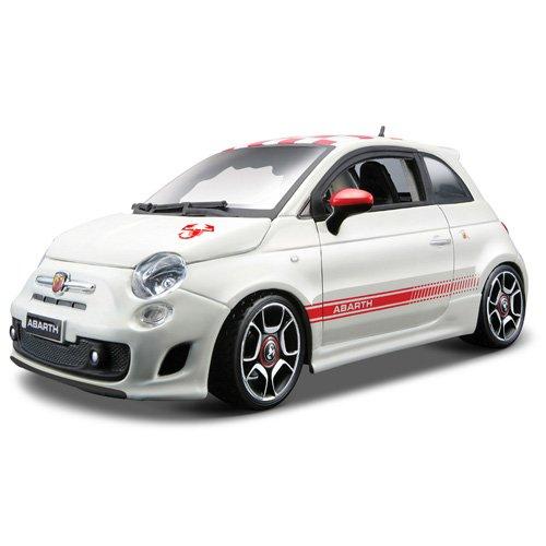 Bburago 25084 Fiat Abarth 500 (2008) - Coche a escala 1:24