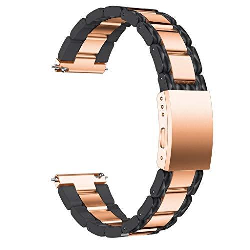Streng Sivel Armband Elegant Apple Watch 38mm Edelstahlarmband Gliederarmband Schwarz Verschiedene Stile Uhrenarmbänder