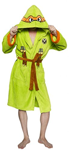 Teenage Mutant Ninja Turtles Michelangelo Erwachsene Kostüm Robe