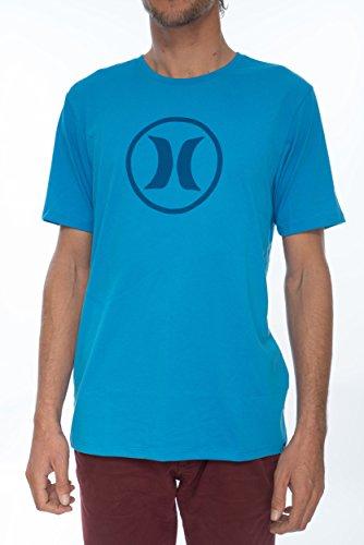 Hurley Herren T-Shirt Circle Icon Dri T-Shirt (Icon Hurley)