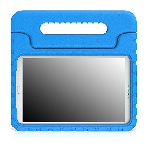 MoKo Tab E 9.6 Hülle Case - Superleicht Eva Stoßfest Kinderfreundlich Kinder Schutzhülle mit umwandelbarer Handgriff Handle und Standfunktion für Samsung Galaxy Tab E 9,6 Zoll Tablet-PC, Blau - Nook Nook Farbe Oder Tablet Tasche