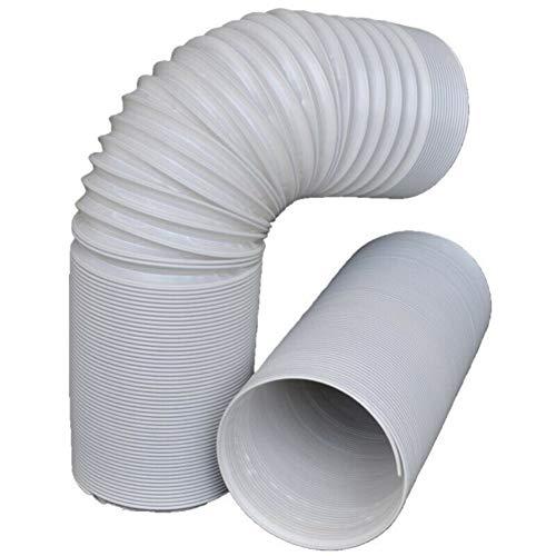 Dkhsy Kit de extensión de Manguera de ventilación portátil para Aire Acondicionado, Flexible y Duradero, fácil de Instalar, 125mm*3m