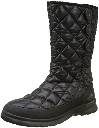 The North Face T92T5K, Botas para Mujer, Varios Colores (Shiny Tnf Black/Smoked Pearl Grey), 40 EU