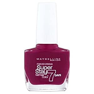 Maybelline Superstay Super Stay 7 Day Gel Nail Polish Divine Wine 265