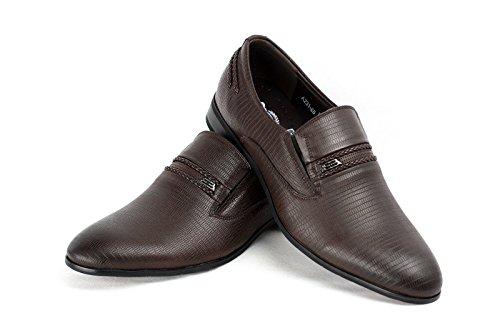 Hommes A Enfiler Chaussures Formelles Smart Café