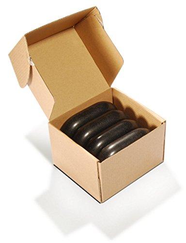 Preisvergleich Produktbild MT Master Massage Groß Ovular Basalt Hot Stone Massagesteine America Brand (XXX)
