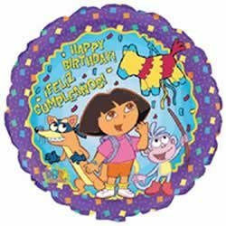 Dora the Explorer Birthday 18in Balloon