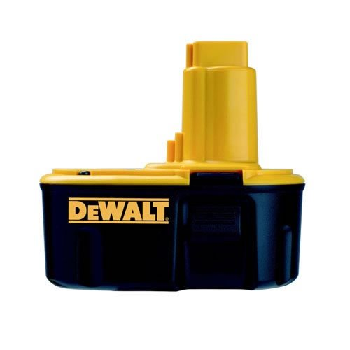 DeWalt Ersatzakku (14,4 Volt, 2,6 Ah NiMH, passend für alle 14,4 Volt Akku-Maschinen von DeWalt, keine Selbstentladung, kein Memoryeffekt) DE9502 -