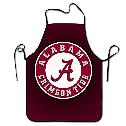 Lustige Unisex Charakter Küche Alabama Crimson Roll Chef Schürzen, Easy Clean Adult Cooking Guide Schürze, - Crimson Kinder Kostüm