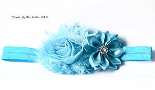 Flower Studded Hairband