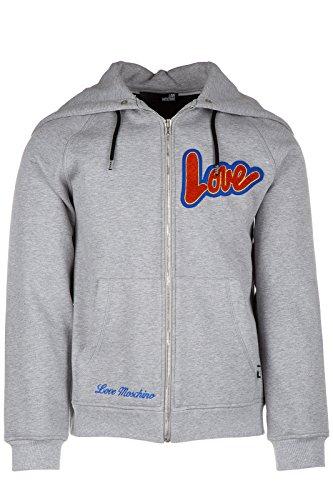 Love Moschino felpa con cappuccio uomo grigio EU M (UK 38) M 3 113 01 M 3677 B5