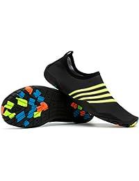 Zapatos de agua AQUA-SPEED de surf/zapatos/zapatillas Aquashoe 7a-665 (azul claro/oscuro azul, 43)