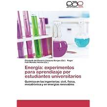 Energia: Experimentos Para Aprendizaje Por Estudiantes Universitarios