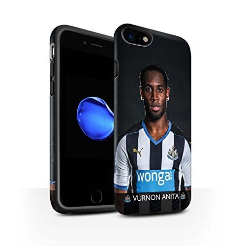 Officiel Newcastle United FC Coque / Matte Robuste Antichoc Etui pour Apple iPhone 7 / De Jong Design / NUFC Joueur Football 15/16 Collection Anita