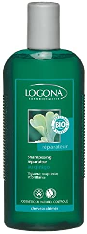 Logona - 1003sharep - Soin et Beauté du Cheveu - Shampooing Réparateur au Gingko - 250 ml