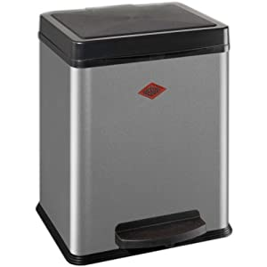 Wesco dustbin eco-collector 1x20 liter silver 380 511-11