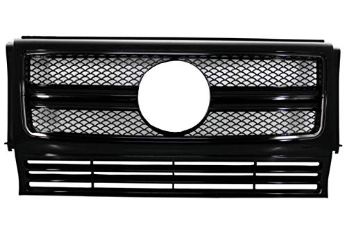 Kitt Fgmbw463amgbb Grille frontale (1990-2012) Look Piano Full Black Edition