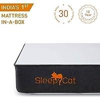 SleepyCat - Gel Memory Foam Mattress (78x72x6 inches)