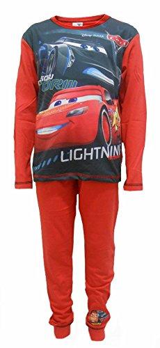 Disney Cars Jackson Storm Jungen-Nachtwäsche Schlafanzug Schlafanzug 7-8 Jahre (Christmas Pyjamas Disney)