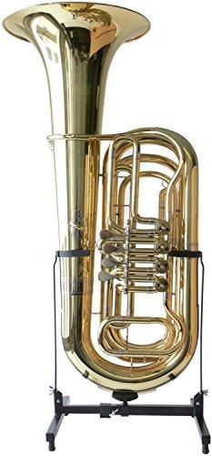 Steinbach B- Tuba mit 4 Drehventilen im ABS-Koffer
