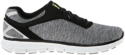 Skechers - Sneaker Synergy Instant Reaction, Uomo Grigio (Grau (LGBK))