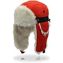 Outfly Ushanka Trapper Rusia Caza de sombrero de piel sintética Cap Earflap  Invierno cea8768d0f5