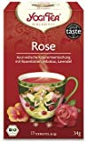 YOGI TEA Tao-Tee Rose im Beutel (17 Beutel) - Bio