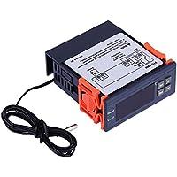 Termostato - Controlador de temperatura digital Ac 110v-220v, modos de calor y frío del termostato
