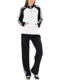 adidas Young Knit–Chándal infantil color blanco y negro, blanco / negro
