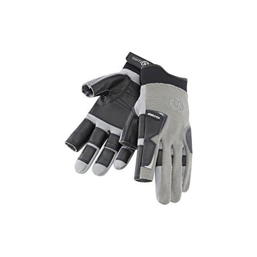 41UkNrq6asL. SS500  - Henri Lloyd Pro Grip Long Finger Gloves Titanium - Adults Unisex - MAXGRIP Palm Kayak or Kayaking - Material