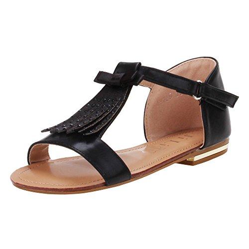 Chaussures pour fille, l- 229–1, sandales Noir - Schwarz S