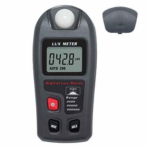 KUNSE Mt30 LCD Digital Display Handheld Licht Lux Meter Tester Luxmeter Luminometer