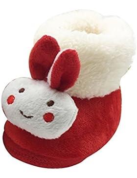 Zhuhaitf Excelente Lovely Infant Girls Soft Shoes Baby Winter Warm Plush Cotton Boot xsx010