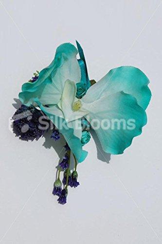 Moderne Jade Green Orchid Brautkleid, Klettern, mit Klee (Jade Brautkleider)