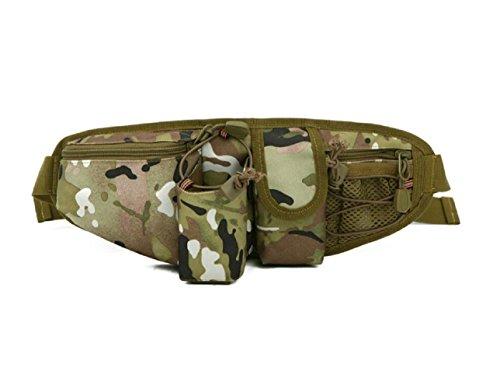 LJ&L Outdoor Sporttasche Tarnung wasserdichte Nylon Multifunktions-Taschen, tragbares Outdoor Wandern Picknick, Nylon Taschen langlebig A5