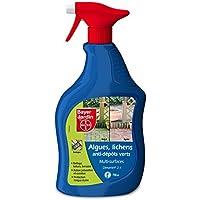 Bayer jardín mouspal Anti Algas, Lichens y Anti-dépôts Verdes–Multi Superficies 750ML, Amarillo, 12.8x 6.3x 28cm