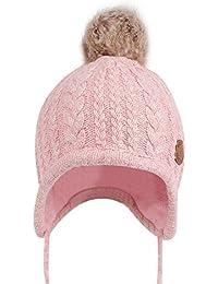Chapeaux de tricot pour bébé Bonnet, tukis portes Unisexe Garçon Fille  Bonnet d hiver 2a03c127e27