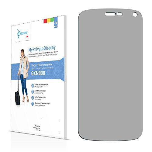 Vikuiti Blickschutzfolie GXN800 von 3M für BLU Life Play X Displayschutzfolie - Privacy, Anti-Spy, Sichtschutz (Displayschutzfolie Für Blu Life Play X)