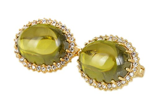 women-stud-earrings-gold-plated-round-green-cubic-zirconia-egg-earrings-for-women-by-aienid